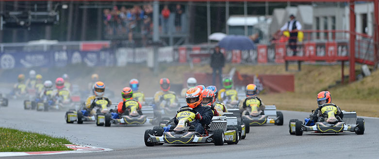 Piloto de karting Xavier Lloveras Brunet
