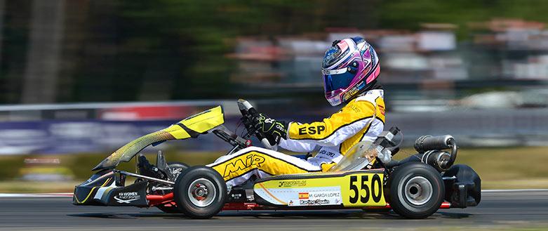 Piloto de karting Marta García López